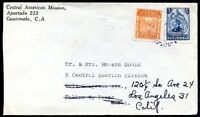 GUATEMALA TO USA, Re-sent Cover, 1946