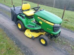 John Deere X300R Ride On Mower Garden Tractor