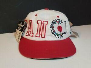 Vintage 1996 Japan Atlanta Olympic Summer Games Snapback Hat Cap Starter NWT