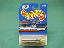 1998 hot wheels solar eagle lll new model yellow