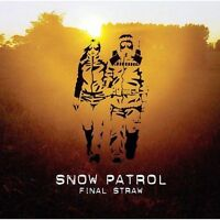 SNOW PATROL Final Straw CD BRAND NEW