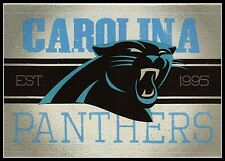 CAROLINA PANTHERS FOOTBALL NFL LICENSED VINTAGE TEAM LOGO INDOOR DECAL STICKER