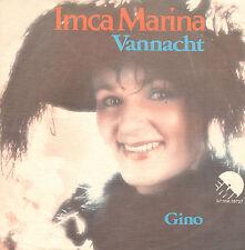 """IMCA MARINA - Vannacht / Gino (1977 VINYL SINGLE 7"""")"""