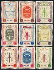 Dubai 1963 Medical/Health/Malaria/Insects 9v set n30014