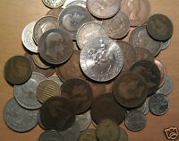 british 50 coins half crown shilling sixpence threepence 2 shillings farthing £