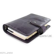 Filofax Malden Personal Size Leather Organiser - Choose colour