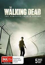 The Walking Dead : Season 4 (DVD, 2014, 4-Disc Set)