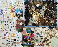 Vintage Mixed Lot 5 1/2 Lbs Buttons