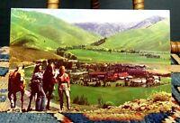 Vintage Sun Valley Idaho Penny Mountain UNION PACIFIC Postcard UN-POSTED