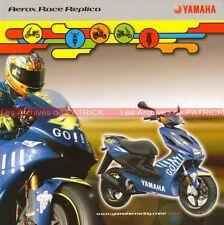 YAMAHA Aerox Race Replica VALENTINO ROSSI 2004 : Brochure Moto Scooter    #0052#