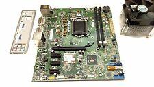 HP Pavilion P6 P7 Motherboard 670960-001 H-JOSHUA-H61-uATX LGA 1155 IO + Cooler