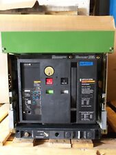 Square D Merlin Gerin 3 Pole 1600 Amp Lsi Circuit Breaker Mp16H1 Masterpact