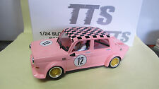 BRM 1:24 Slot Car   Simca 1000   N° 12  in pink  Ref.  BRT 03