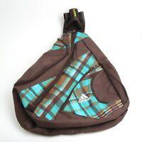 Adidas Backpack - Travel - School - Book bag Large Unisex Blue Brown