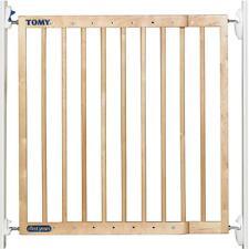 Tomy baby étendant la sécurité en bois porte escalier barrière de sécurité, un ou deux sens