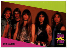 Iron Maiden #64 ProSet Super Stars MusiCards 1991 Trade Card (C376)