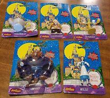 Nip Disney Beauty & The Beast 5 Bend-Ems Justoys - Belle, Beast, Cogsworth, more
