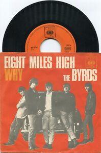 Single Byrds: Eight Miles High (CBS 2067) D 1965 - rare -
