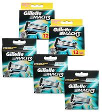 48 Gillette Mach3 Rasierklingen in 3x 8er = 24  + 2x 12er = 24 = Gesamt 48 Stück
