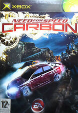 NEED FOR SPEED CARBON Xbox Microsoft Racing Video Game Original UK Rele Sealed