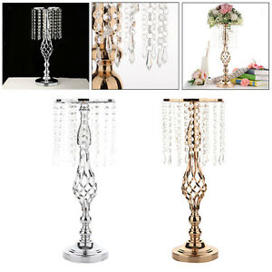 Candles Holder Party Wedding Flower Vase Tall Candlesticks Decor Ornaments