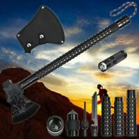 Military Camping Axe Hatchet Survival Tactical Tomahawk Outdoor Hunting Gear Kit