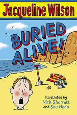 Jacqueline Wilson Story Book: BURIED ALIVE - NEW