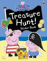 Peppa Pig: Treasure Hunt! Sticker Book by , NEW Book, FREE & Fast Delivery, (Pap