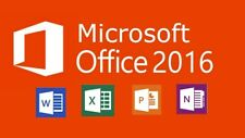 Microsoft Office 2016 Professional Plus 32/64bit Windows 1 PC Download Link-Key