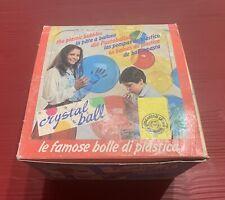 Crystal Ball Vintage della Giocattoli Sicuri Fondo Di Magazzino Box 24 Pezzi New