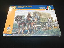 ITALERI 6886 1/32 FRENCH SUPPLY WAGON NAPOLEONIC ERA PLASTIC MODEL KIT