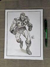IRON MAN ORIGINAL ART ANTHONY CASTRILLO 2006 EXCELLENT ETAT