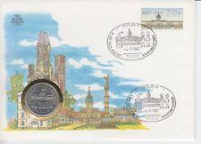 D. Numisbrief  DDR   750 Jahre Berlin  Brandenburger Tor  selten!  1987