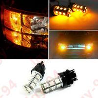 2X Turn Signal Light Amber 3457A 3157 LED Bulbs for Toyota Corolla Tundra