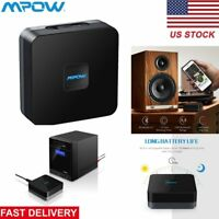 Mpow Wireless AUX Bluetooth 4.1 Receiver Audio USB Bluetooth Adapter 3.5mm RCA