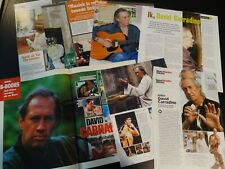David Carradine 10 full pages   Clippings