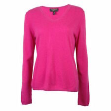 CHARTER CLUB WOMEN'S CASHMERE SWEATER - NWT XL PINK SOLID