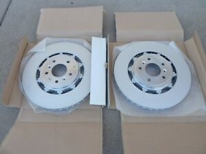 NEW ASTON MARTIN RAPIDE FRONT ROTORS BRAKE STEEL DISC