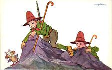 WW1 WWI Propaganda - Golia - Boy Scouts - Umoristica - PV708