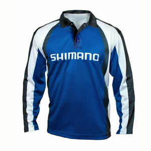Shimano Corporate Long Sleeve Tournament Fishing Shirt - Sublimated UPF50+