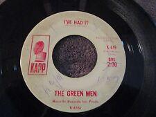 The Green Men, I've Had It / So Fine    PROMO