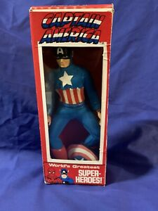 ⭐️vintage Mego Captain America Rare With Shield WGSH✨