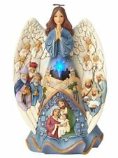 Angelo Heartwood Creek by Jim Shore, LC Lighted Musical Nativity Angel 6001481