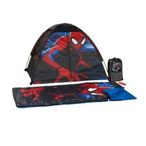 Exxcel Outdoors Marvel Spider-Man 4 Piece Camping Kit - Free Shipping