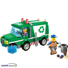 196pcs Garbage Recycling Truck Car Building Blocks DIY Action Figure Toys Gift