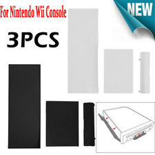 3pcs/set Plastic Replacement Door Slot Cover Lid kit for Nintendo Wii Console