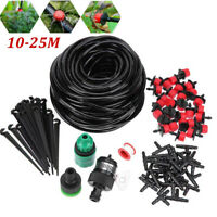 10-25M MICRO IRRIGATION KIT DRIP WATERING SYSTEM GREENHOUSE PLANTS GARDEN TOOL