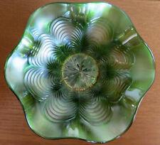 Fenton ARTHUR F ODELL QUINCY ILLINOIS JEWELER Adv on green Peacock Tail Hat 1910