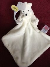 Tesco Polar Bear Baby Comforter White Comforter Blanket Soft toy F&F BNWT