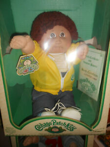 COLECO CABBAGE PATCH KID - NIB - SYLVESTER NORM - NEVER TAKEN OUT - VINTAGE